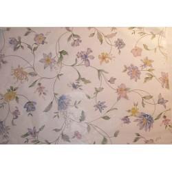 Bibułka z nadrukiem gładka, satynowana - wild flowers