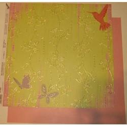 Design Paper koliber i motyle