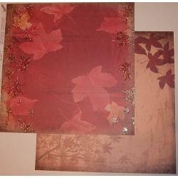 Design Paper dużo liści