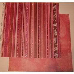 Design Paper serca na paskach