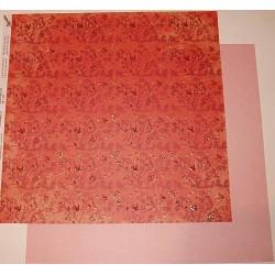 Design Paper ornamenty na czerwieni