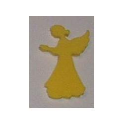 Naklejki kreatywne - Aniołek żółty smukły 12 sztuk