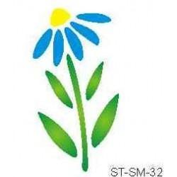 Szablon mini kwiat 32