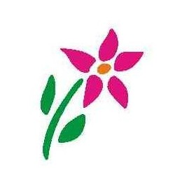 Szablon mini kwiat 36