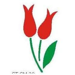 Szablon mini tulipany 39