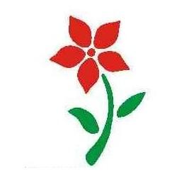 Szablon mini kwiat 41