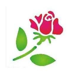 Szablon mini róża 51