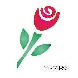 Szablon mini róża 53