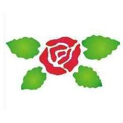 Szablon mini róża 54