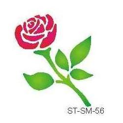 Szablon mini róża 56