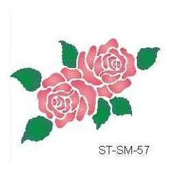 Szablon mini róże 57