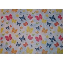 Papier transparentny 23x33cm - motylki