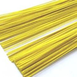 Druty owinięte w papier - żółte