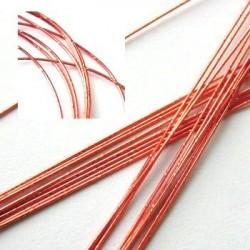 Druty dekoracyjne - czerwone