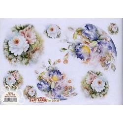 Papier Artistico Mini Soft Floral Concert 25X35 513