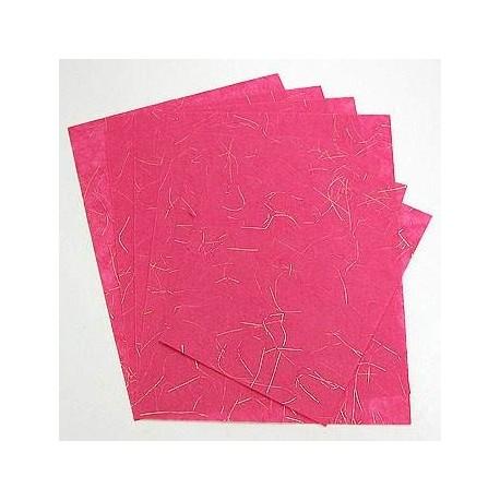 Machined Paper: A4 (ciemno-różowy) i A5 (ciemno-różowy)