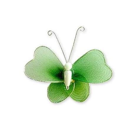 Motylek druciany - zielony