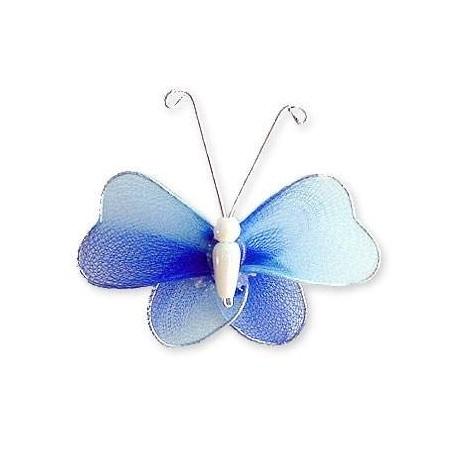 Motylek druciany - niebieski