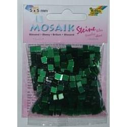 Mozaika lśniąca ciemno-zielona 830 elementów
