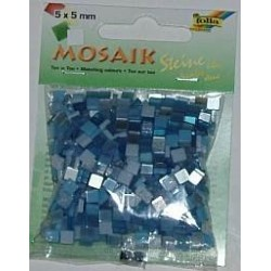 Mozaika ton-in-ton niebieska 700 elementów