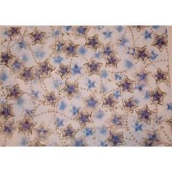 Karton motywowy gwiazdki niebieskie