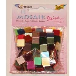 Mozaika lśniąca mix 190 elementów.