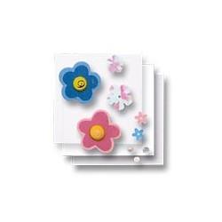 Zestaw elementów do dekorowania - kwiatki