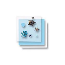 Zestaw elementów do dekorowania - gwiazdy srebrne