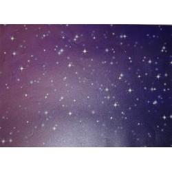 Papier transparentny 23x33cm - gwiazdy na niebie