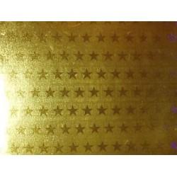 Karton holograficzny gwiazdy złote