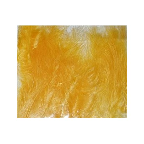 Kolorowe piórka żółte