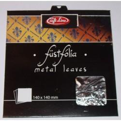 Metal Leaves (silver) - Cienkie arkusze folii srebrne
