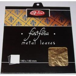 Metal Leaves (gold 2) - Cienkie arkusze folii (złote 2)