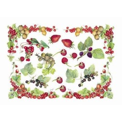 Papier Artistico Mini Soft Berries 25X35 044