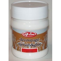 Klej i lakier do decoupage 230ml - DECOUPAGE VARNISH & GLUE