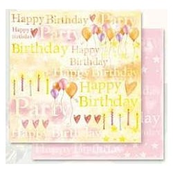 Design Paper happy birthday