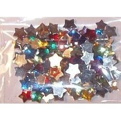 Kryształki dekoracyjne - gwiazdki