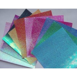 Papier do origami kwadrat opalizujący 14 cm 50 szt (3115)