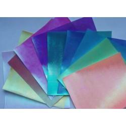 Papier do origami kwadrat opalizujący 14 cm 50 szt (3117)