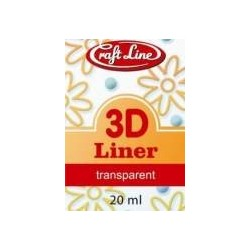 Konturówka 3D 20ml - Liner 3D (glitter)