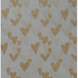 Hadna złote wzory - serca