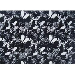 Kalka black&white - Motyle