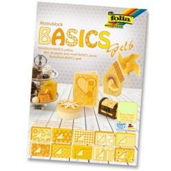 Karton motywowy Basics żółte