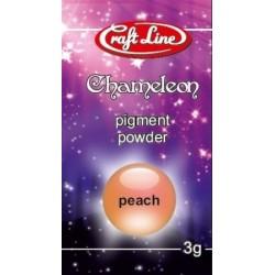 Chameleon Pigment Powder 3g (peach) - Pigment brzoskwiniowy