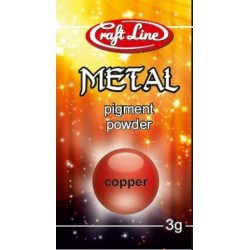 Metallic Pigment Powder 3g (copper) - Pigment miedź