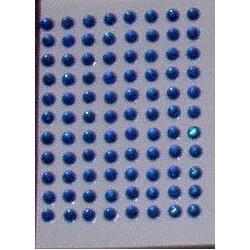 Kryształki samoprzylepne ciemnoniebieskie 3 mm