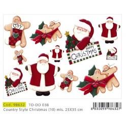Papier Artistico Mini Soft Style Christmas 25X35 038