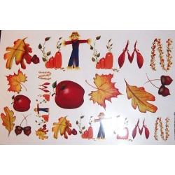 Kalkomania artystyczna - Autumn is Coming