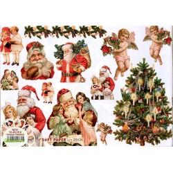 Papier Artistico Mini Victorian Christmas 25X35 012