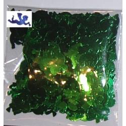 Elementy z alu folii anioły zielone